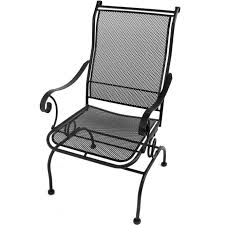 Meadowcraft Patio Furniture Cushions by Meadowcraft Alexandria Wrought Iron Coil Spring Patio Dining Chair