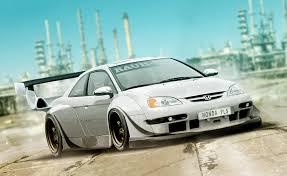 100 Em2 Design ArtStation Honda Civic EM2 US Spec RWB Krzysztof Korniak