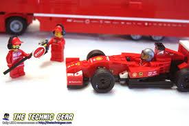 100 Ferrari Truck LEGO 75913 F14 T Scuderia Review LEGO