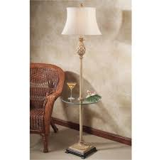 Vintage End Table With Lamp Attached by End Table With Attached Lamp Furnitures We Have Light Puddys House