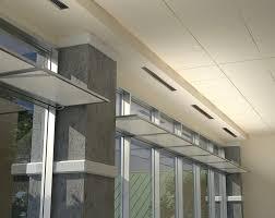 Kawneer Curtain Wall Revit by Aluminum Interior Curtain Wall Light Shelf Inlighten Light Shelf