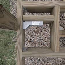 Distance Between Floor Joists Canada by How To Build A Deck Wood Decking And Railings