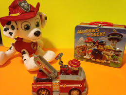 100 Fire Truck Lunch Box Paw Patrol Surprise Eggs Mashems My Lil Pony Hot