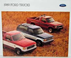1989 Ford Trucks Sales Brochure F-Series Ranger Bronco Aerostar ... Texas Truck Fleet Used Sales Medium Duty Trucks Gm Vs Ford And The Latest Sales Valries Details 2014 Proving To Be Bumper Year For Us Car The Japan Times Black Friday F150 2018 Performance Of Clinton Pick Up For Cng Fordtruckscom Finchers Best Auto Lifted In Houston Is Making More Money Despite Car Collapse Insurance 1932 Pickup Hot Rod Street Deuce Steel Vintage 32 Rat Says It Can Survive A Drastic Plunge Fortune Fords Sale At Lybgers Llc Anchorage F750 Water Abilene Tx 9403770