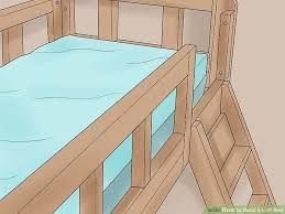 Build Wooden Loft Bed by How To Build A Loft Bed With Pictures Wikihow