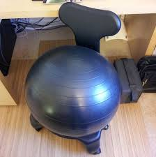 Physio Ball Chair Base by Exercise Balls 31390 Balance Ball Chair Fitness Exercise Workout