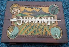 Jumanji Game Board Is Made Up Of The Itself A Stack Danger Cards Red Filter Disk That Meant To Interpret Four Rescue Dice
