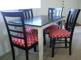 Dining Room Chair Cushions S With Long Ties 18 X 16 Pads Set And