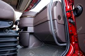 100 Semi Truck Interior The Of A Modern Luxury Red Made In Shades