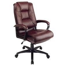 Work Smart Burgundy Leather High Back Executive Office Chair EX5162 ... Classic Leather Executive Office Chair Rapid Fniture Shop Highback Traditional Tufted Osp Black Bonded With Wood Trim L Amazoncom Halter Hal007 Eames Style Cream Faux Mulberry Moon Made For Comfort Ez Brown Taupe 500lb High Back Go2092m1tpgg Bizchaircom Staples Giuseppe Ea119 Chair Design Seats Buy Designer Flow Hon Atwork Canada
