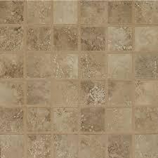 shop bedrosians roma noce squares mosaic porcelain floor