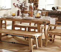 Mango Wood Dining Table Designs And Ideas Rustic Style With Bench