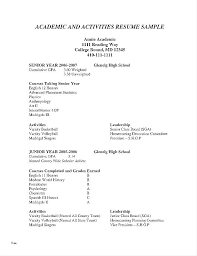 Resumes For High School Graduates Objective Resume Student Graduate Sample Examples