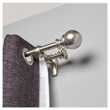 Target Curtain Rod Finials by Curtain Rods Target