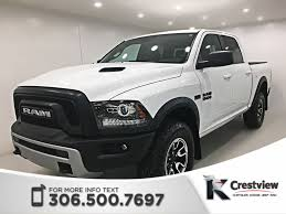 100 Dodge Small Truck 2017 Certified Used 2017 Ram 1500 Rebel Crew Cab
