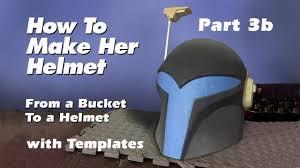 Boba Fett Helmet Pumpkin Stencil by How To Make A Sabine Wren Helmet Step By Step Guide Part 3b