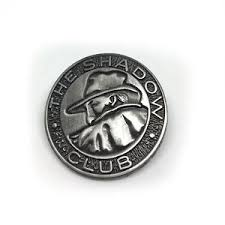 Image Is Loading The Shadow Club Pin Reproduction Tribute Lapel
