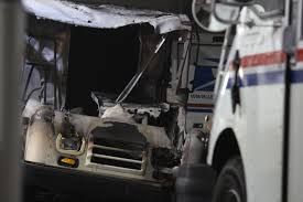 Logan Post Office Truck Catches Fire   KUTV Usps Mail Truck Stock Photos Images Alamy Post Office Buxmontnewscom Indianapolis Circa May 2017 Usps Trucks July The Berkeley Post Office Prosters Cleared Out In Early Morning Raid Other Makes Vintage Step Vans Pinterest Says It Will Try To Salvage Some Mail After Fire Local Truck New York Usa Us Vehicle Photo Charlottebased Spartan Motors Will Build Cargo Vehicles For Postal Trucks Hog Parking Spots Murray Hill February