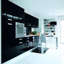 meuble de cuisine noir meuble haut de cuisine noir laque start caisson l cm pas