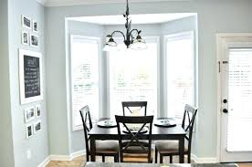 Cafe Curtains Dining Room Kitchen Bay Window Table For In Application Of Ideas