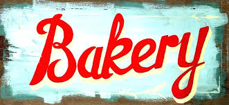 Vintage Kitchen Sign Bakery For Your Home Retro S Funny Signs Gallery