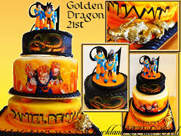 Dragon Ball Z Decorations by 21st Birthday Cakes U2013 Male U2013 Auckland Cake Art