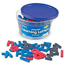 Amazon Learning Resources Magnetic Learning Letters