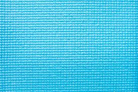 Blue Yoga Mat Texture Background