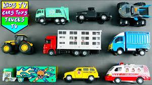 100 Youtube Trucks For Kids Street Vehicles Children Babies Toddlers Garbage Truck