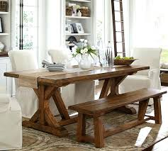 Pottery Barn Kitchen Table Attractive Tables Wells Extending Dining House