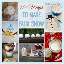 Flocking Christmas Tree With Soap by 11 Ways To Make Your Own Faux Snow Stow U0026tellu