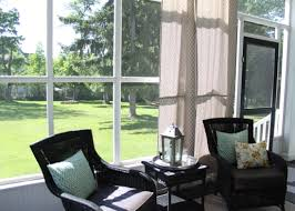 Patio Curtains Outdoor Plastic by Diy Outdoor Curtains Using A Shower Curtain Love Of Home