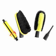 100 Truck Wash Brush 4Pcs Car Kit Saving Water Soft Bristle Auto Vehicle