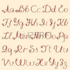 Cute Handwriting Alphabet For Girls Pretty Handwriting For Girls