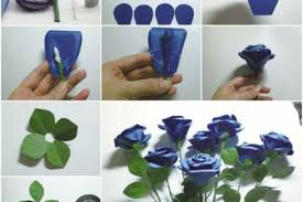 How To Make DIY Crepe Paper Rose Flowers Step By Craft Tutorials YouTube