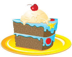 Slice Cake Clipart Birthday Cake Clip Art Slice Cwemi Gallery Clipartix Kids Coloring Pages