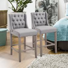 Set Of 2 Counter High Dining Chair Bar Stool Elegant Button Tufted Furniture 51 Grey Ding Rooms With Tips To Help You Decorate And Charlie Swoop Arm Chair Image 2 Of 3 Bridal Booth Silver Velvet Accent With Nailhead Trim Pier 1 Cheap Upholstered Find Home Designing Iconic Home Gourdon Plush Gold Tone Solid Metal Legs Details About New Urban Style Chairs Sofa Side W Wood Fniture Lyric Counter Stool Tufted Seat Tapered Amazoncom Lattice Indigo Kitchen Ottoman 3d Product Models Herman Miller Leather Deals
