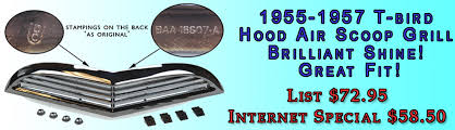 100 68 Chevy Truck Parts Ford Restoration For Classic Thunderbird Cars S