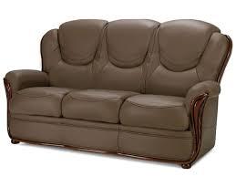 canapé cuir et bois rustique canape cuir rustique finest canape cuir et bois canapac places avec
