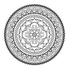 Color Mandalas Colouring Pages Celtic Mandala 2 Coloring Page Free Inside Online