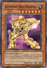 amazon com yu gi oh elemental hero bladedge ysdj en018