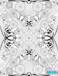 Rosette Intricate Patterns Arabesque Coloring Page Sophisticated Adult