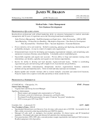 cover letter sales device resume sles sle free
