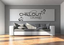 wandtattoo aufkleber chillout chill out lounge kreise