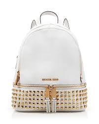 michael kors u0027 small rhea studded backpack is perfect for storing