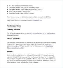 Sample Software Proposal Template Project For License Terms And Conditions Development