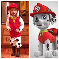 Marshall From Paw Patrol Halloween Costume Ideas Of Fireman ...