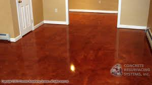awesome acid stain basement floor cape cod concrete resurfacing
