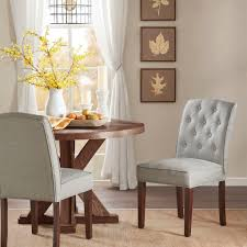 Marian Dining Chair In Tufted Cream/Grey Fabric (Set Of 2) By Madison Park Marian Ding Chair In Tufted Camgrey Fabric Set Of 2 By Madison Park Hipvan Pieces Zemke Grey 24w X 23d 37h Amazoncom Madison Park Signature Cooper French Country X Back Chairs Black Leather Wazo Fniture Urban Elevation Upholstered Homesullivan Brown 405425akspu2p The Home Depot Peyton 2piece 2019 Products