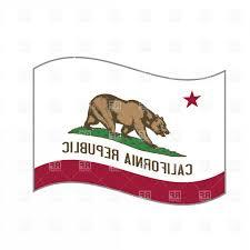 Calif Flag Vector Art California State Clipart